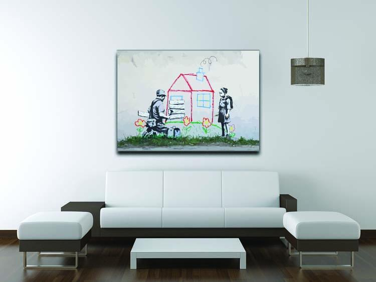 Banksy Play House Canvas Print or Poster - Canvas Art Rocks - 4