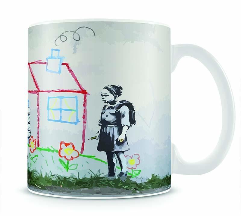 Banksy Play House Cup - Canvas Art Rocks - 1
