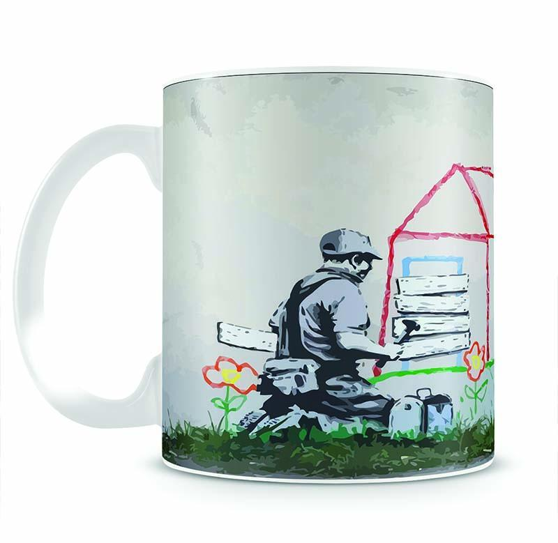 Banksy Play House Cup - Canvas Art Rocks - 2