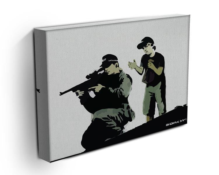 Banksy Police Sniper Canvas Print or Poster - Canvas Art Rocks - 3