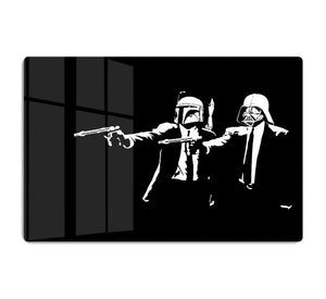 Banksy Pulp Fiction Star Wars HD Metal Print