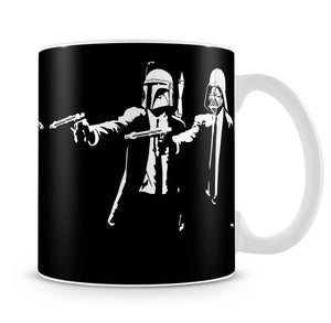 Banksy Pulp Fiction Star Wars Mug - Canvas Art Rocks