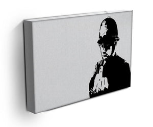 Banksy Rude Policeman Print - Canvas Art Rocks - 3