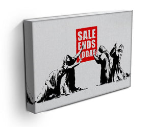 Banksy Sale Ends Today Print - Canvas Art Rocks - 3