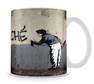 Banksy So Cliche Mug - Canvas Art Rocks - 1