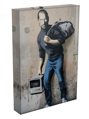 Banksy Steve Jobs Canvas Print or Poster - Canvas Art Rocks - 3