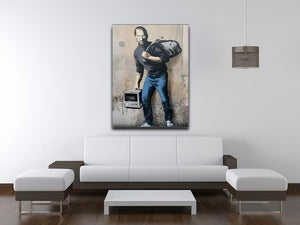 Banksy Steve Jobs Canvas Print or Poster - Canvas Art Rocks - 4