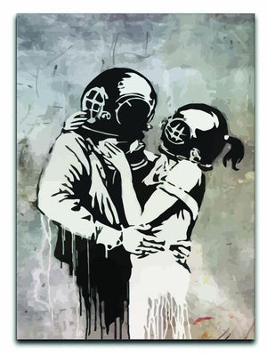 Banksy Think Tank Canvas Print or Poster  - Canvas Art Rocks - 1