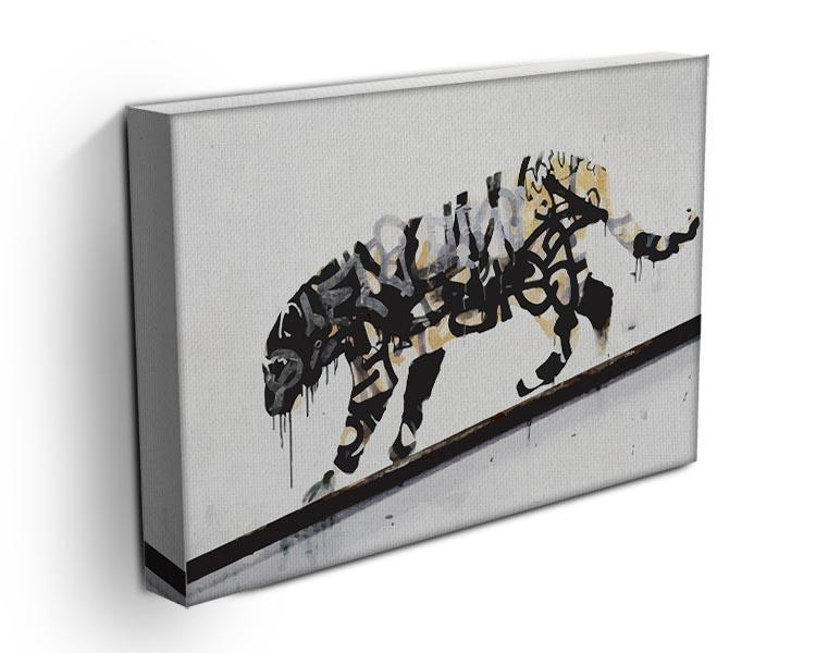 Banksy Tiger Canvas Print or Poster - Canvas Art Rocks - 3