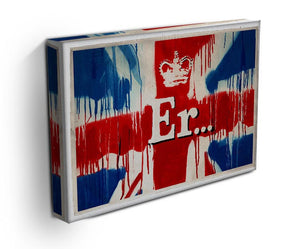 Banksy Union Jack ER Print - Canvas Art Rocks - 3