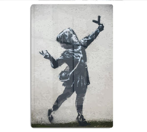 Banksy Valentines Day Marsh Lane HD Metal Print