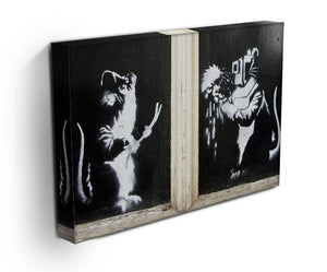 Banksy Welding Rats Print - Canvas Art Rocks - 3