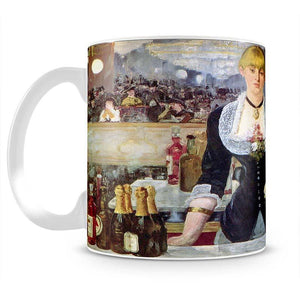 Bar in the Folies-Bergere by Manet Mug - Canvas Art Rocks - 2