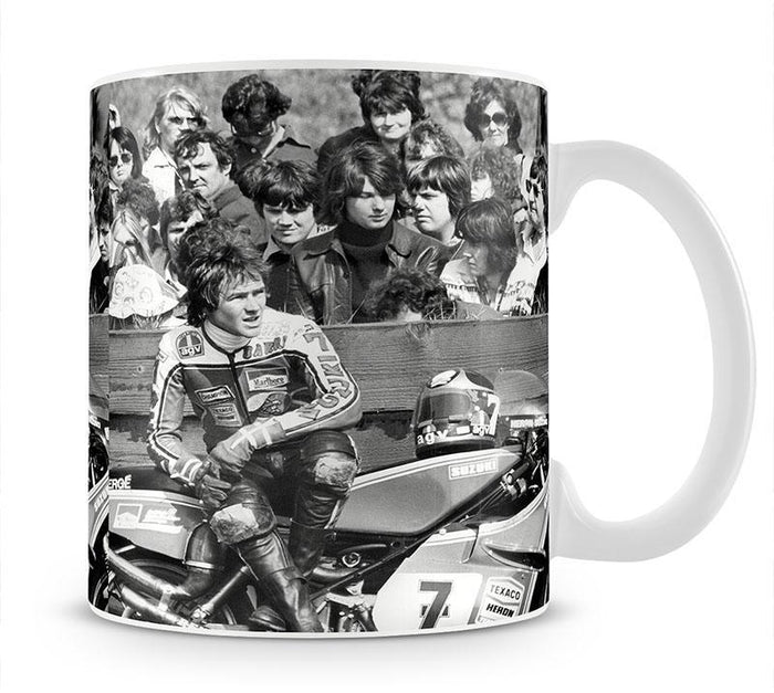 Barry Sheene motorcycle racer Mug