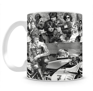 Barry Sheene motorcycle racer Mug - Canvas Art Rocks - 2