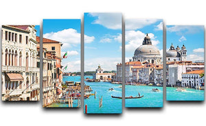 Basilica di Santa Maria della Salute 5 Split Panel Canvas  - Canvas Art Rocks - 1