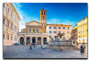 Basilica of Saint Mary in Rome Canvas Print or Poster  - Canvas Art Rocks - 1