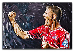 Bastian Schweinsteiger Canvas Print or Poster  - Canvas Art Rocks - 1