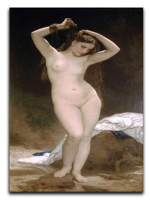 Bather By Bouguereau Canvas Print or Poster  - Canvas Art Rocks - 1