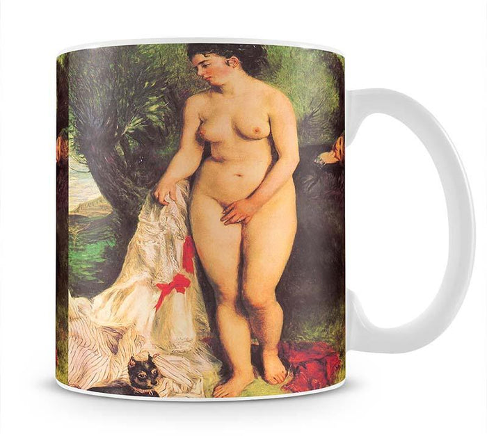 Bather with a Terrier by Renoir Mug