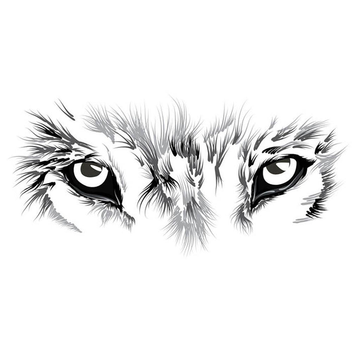 Beautiful Wolf face illustration Wall Mural Wallpaper
