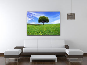 Beautiful spring landscape Canvas Print or Poster - Canvas Art Rocks - 4