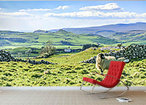 Beautiful yorkshire dales landscape Wall Mural Wallpaper - Canvas Art Rocks - 2