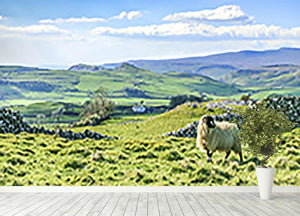 Beautiful yorkshire dales landscape Wall Mural Wallpaper - Canvas Art Rocks - 4