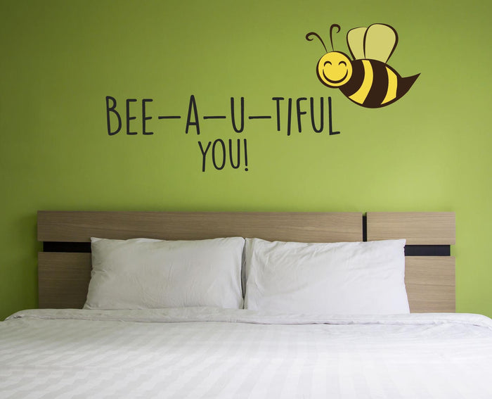 Bee-a-u-tiful Wall Sticker