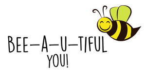 Bee-a-u-tiful Wall Decal - Canvas Art Rocks - 2