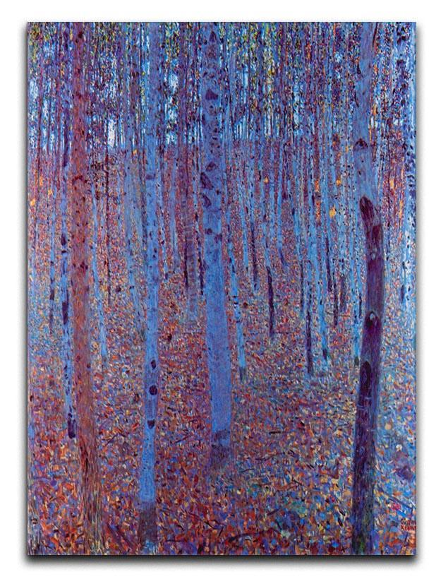Beech Forest by Klimt Canvas Print or Poster  - Canvas Art Rocks - 1