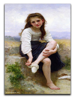 Before The Bath By Bouguereau Canvas Print or Poster  - Canvas Art Rocks - 1