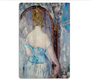 Before the Mirror by Manet HD Metal Print