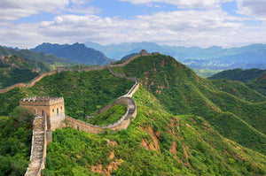 Beijing Great Wall of China Wall Mural Wallpaper - Canvas Art Rocks - 1