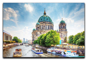 Berlin Cathedral Berliner Dom Canvas Print or Poster  - Canvas Art Rocks - 1