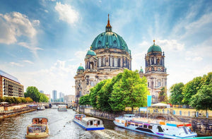 Berlin Cathedral Berliner Dom Wall Mural Wallpaper - Canvas Art Rocks - 1