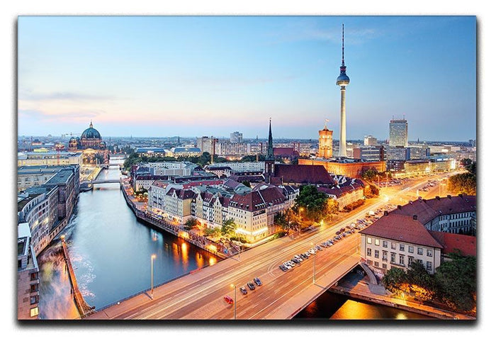 Berlin skyline Canvas Print or Poster