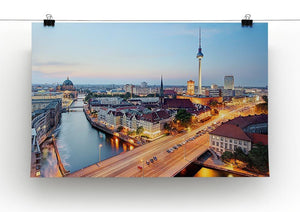 Berlin skyline Canvas Print or Poster - Canvas Art Rocks - 2