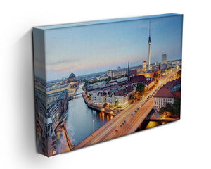 Berlin skyline Canvas Print or Poster - Canvas Art Rocks - 3