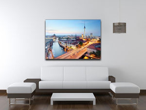 Berlin skyline Canvas Print or Poster - Canvas Art Rocks - 4