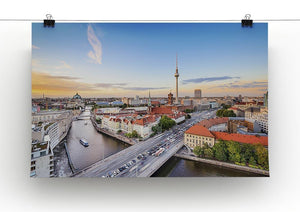 Berlin skyline on the Spree River Canvas Print or Poster - Canvas Art Rocks - 2