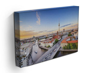 Berlin skyline on the Spree River Canvas Print or Poster - Canvas Art Rocks - 3