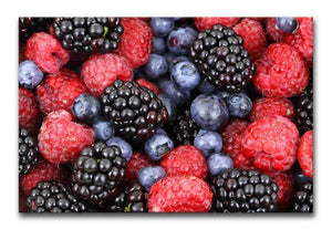 Summer Berries Print - Canvas Art Rocks - 1
