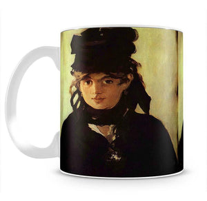 Berthe Morisot by Manet Mug - Canvas Art Rocks - 2
