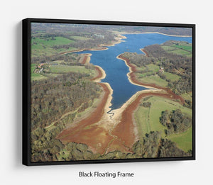 Bewl Water Floating Frame Canvas - Canvas Art Rocks - 1