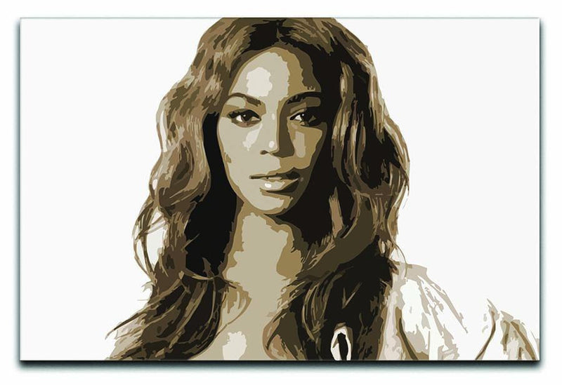 Beyonce Pop Art Canvas Print or Poster  - Canvas Art Rocks - 1