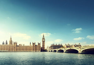 Big Ben in sunny day Wall Mural Wallpaper - Canvas Art Rocks - 1