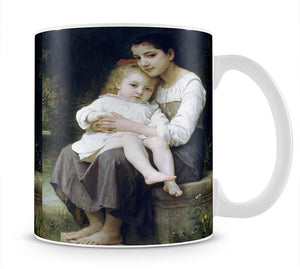 Big Sis By Bouguereau Mug - Canvas Art Rocks - 1