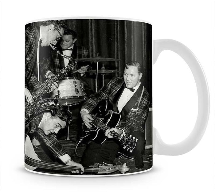 Bill Haley and The Comets going crazy Mug