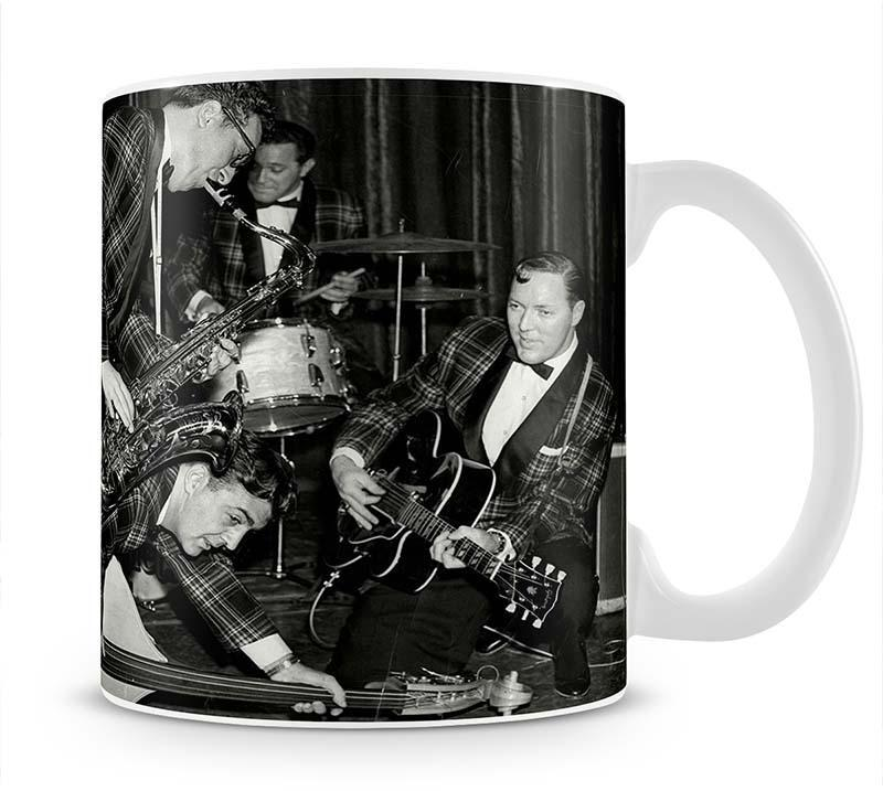 Bill Haley and The Comets going crazy Cup - Canvas Art Rocks - 1